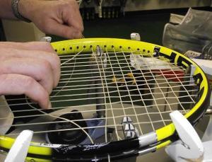 Tennis racket repairs